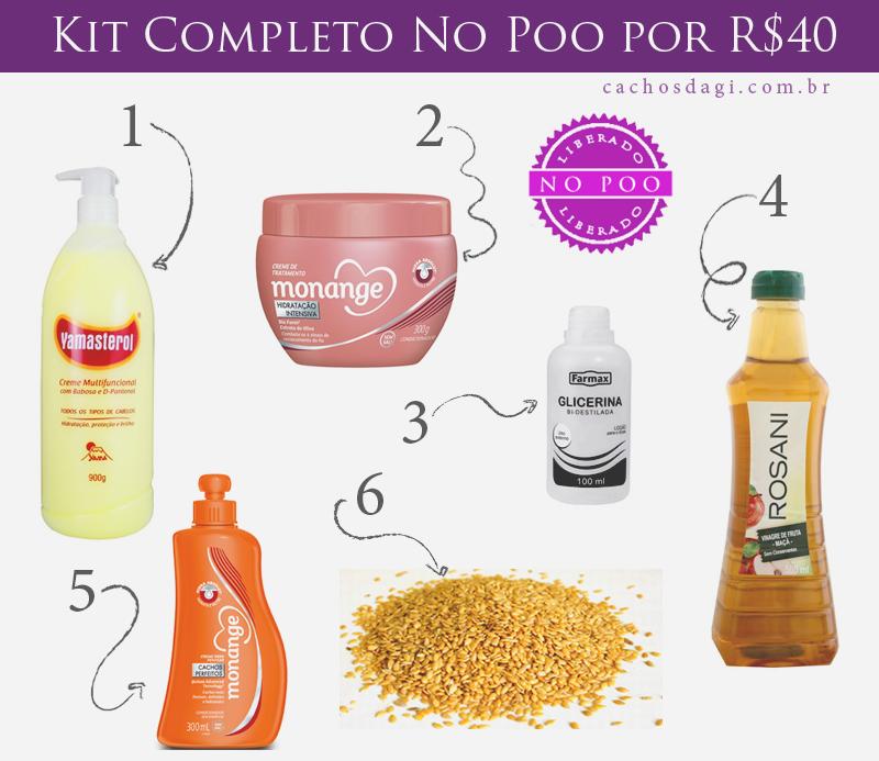 Monte seu Kit Completo No Poo por R$40