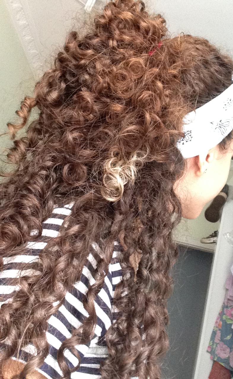 Penteados Fáceis - Cabelo Cacheado #1